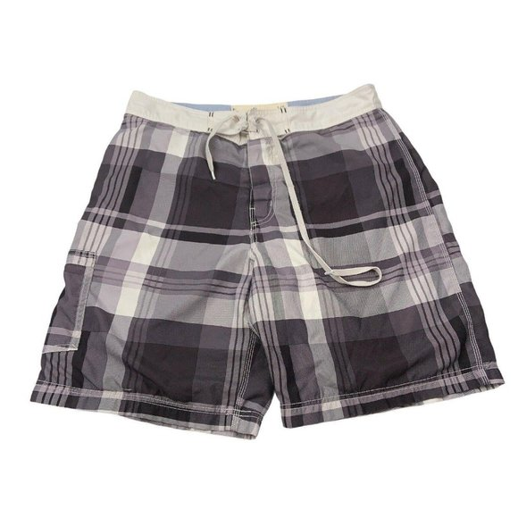 American Eagle Outfitters Mens Plaid Shorts Large